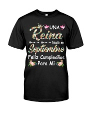 September Girl Classic T-Shirt front