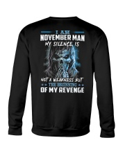 November Man Crewneck Sweatshirt thumbnail