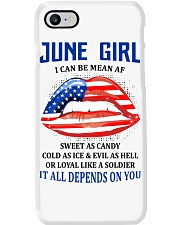 June Girl Phone Case thumbnail