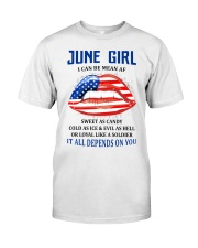 June Girl Classic T-Shirt front