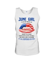 June Girl Unisex Tank thumbnail
