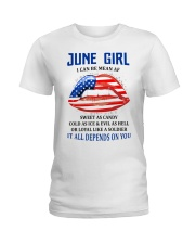 June Girl Ladies T-Shirt thumbnail