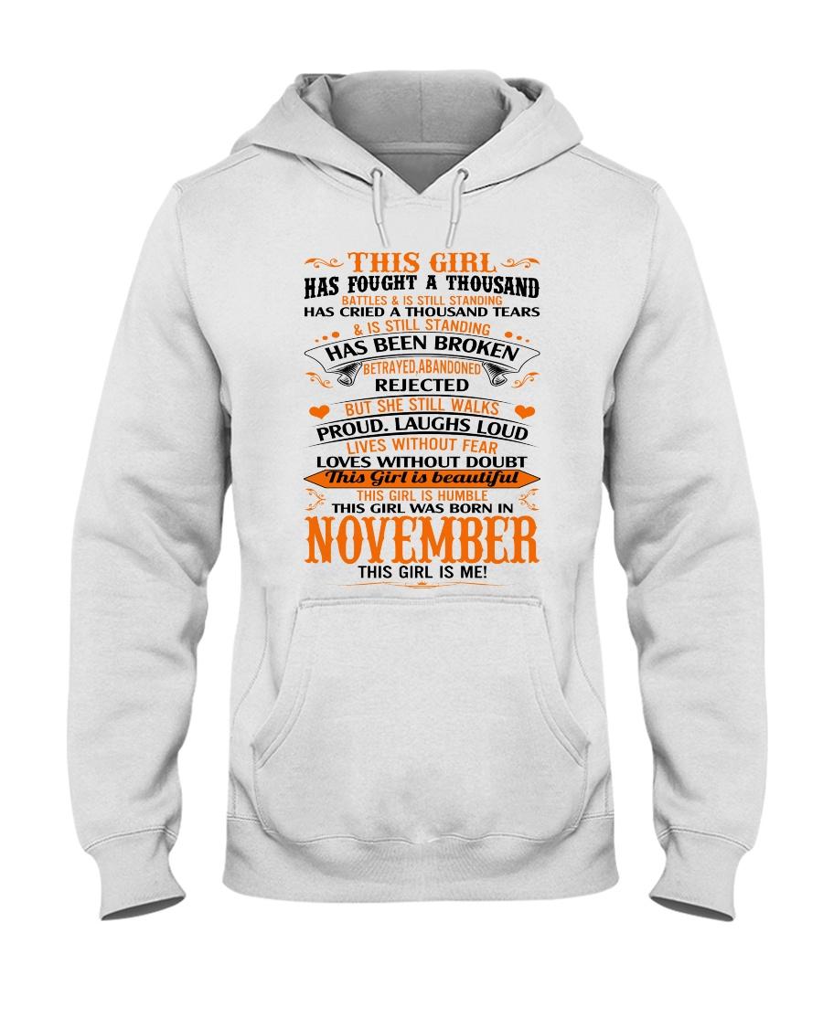 November Girl Hooded Sweatshirt
