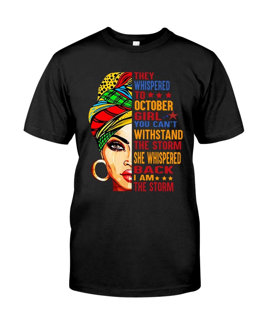 October Girl Classic T-Shirt