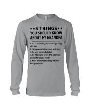 October Grandpa Long Sleeve Tee thumbnail