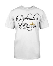 September Aqueen Classic T-Shirt front