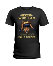 I am Who I am Ladies T-Shirt front