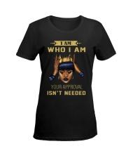 I am Who I am Ladies T-Shirt women-premium-crewneck-shirt-front
