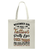 November Girl Tote Bag thumbnail