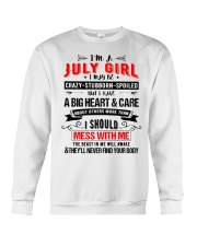 July Girl Crewneck Sweatshirt thumbnail