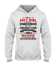 July Girl Hooded Sweatshirt front