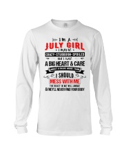 July Girl Long Sleeve Tee thumbnail