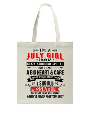 July Girl Tote Bag thumbnail