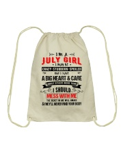 July Girl Drawstring Bag thumbnail