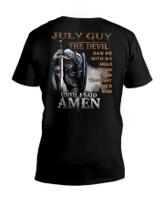 July Man V-Neck T-Shirt thumbnail