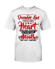 December Girl Classic T-Shirt front