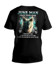 June Man V-Neck T-Shirt thumbnail