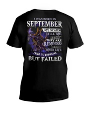 September Man V-Neck T-Shirt tile