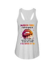 March Girl Ladies Flowy Tank thumbnail
