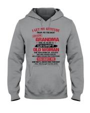 August Grandma Hooded Sweatshirt thumbnail
