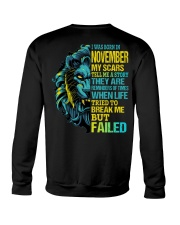 November Man Crewneck Sweatshirt tile