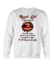 March Girl Crewneck Sweatshirt thumbnail