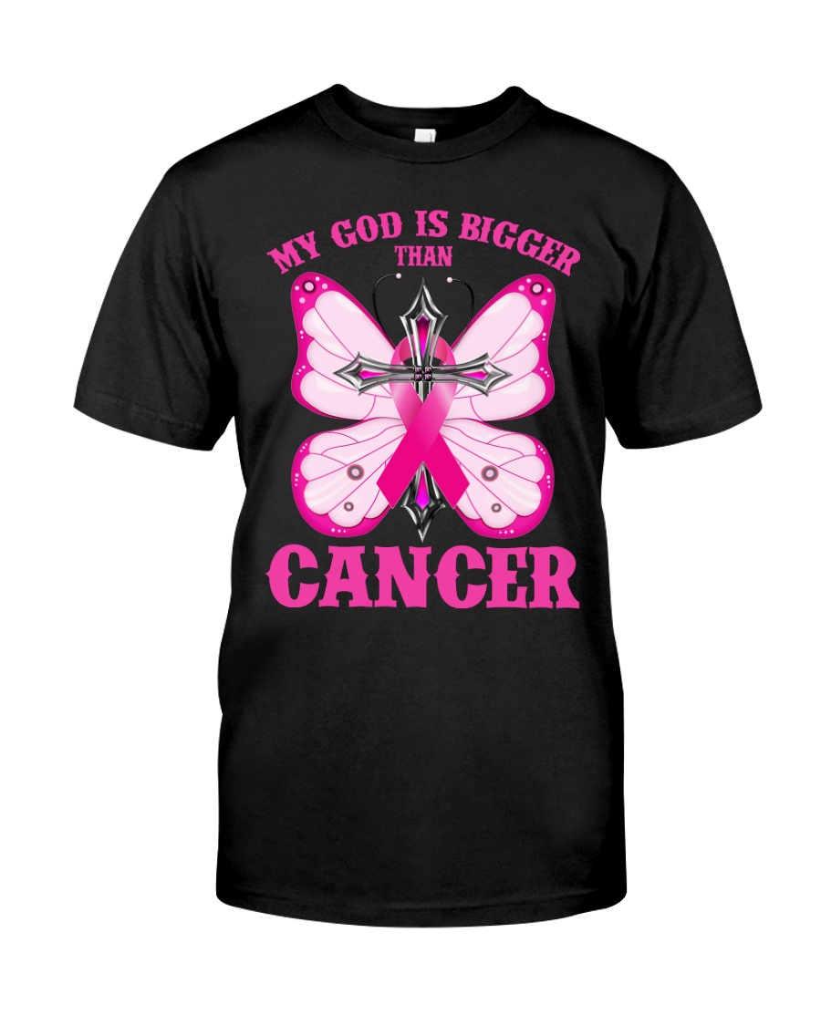 My god is bigger than cancer T-shirt Classic T-Shirt