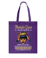 November Queen Tote Bag thumbnail