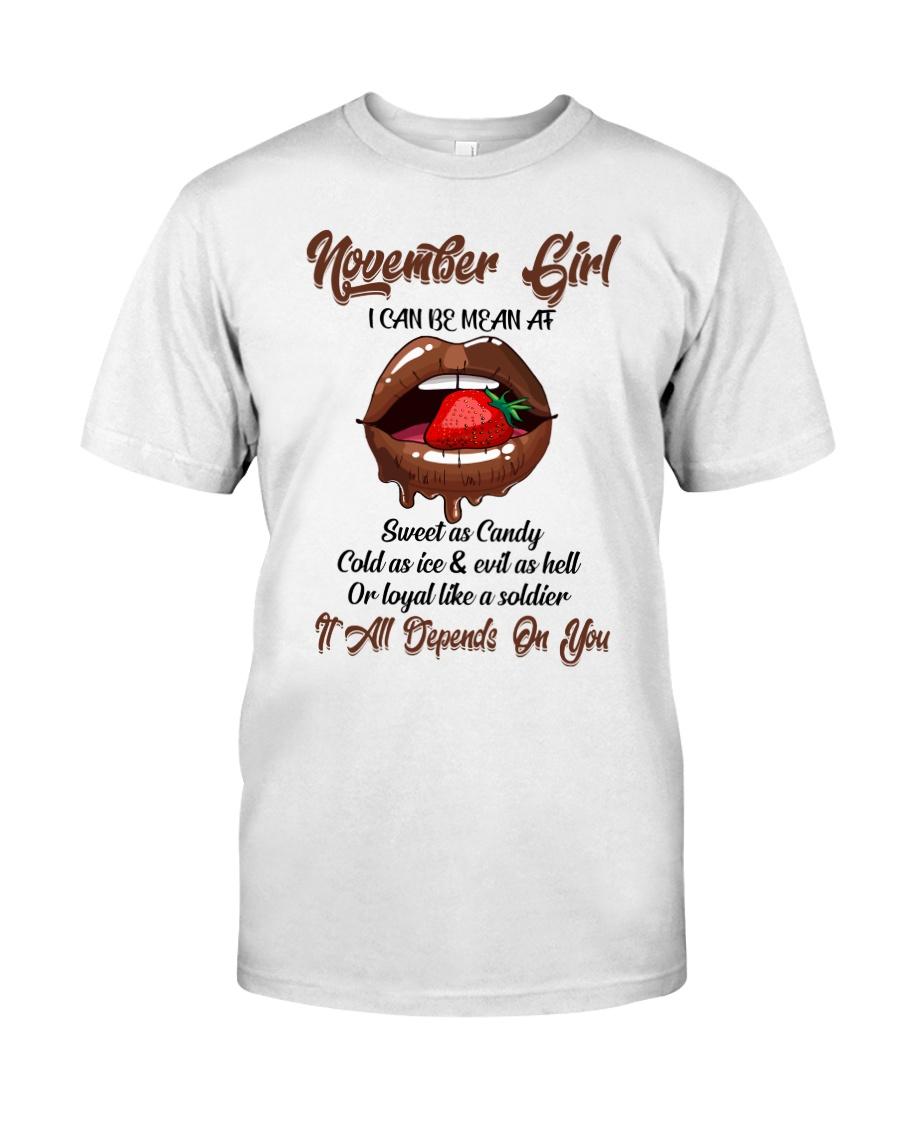 November Girl Classic T-Shirt