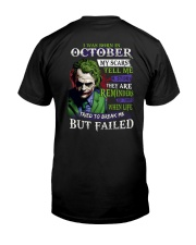 October Man - Limited Edition Classic T-Shirt back