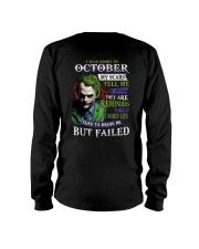 October Man - Limited Edition Long Sleeve Tee thumbnail