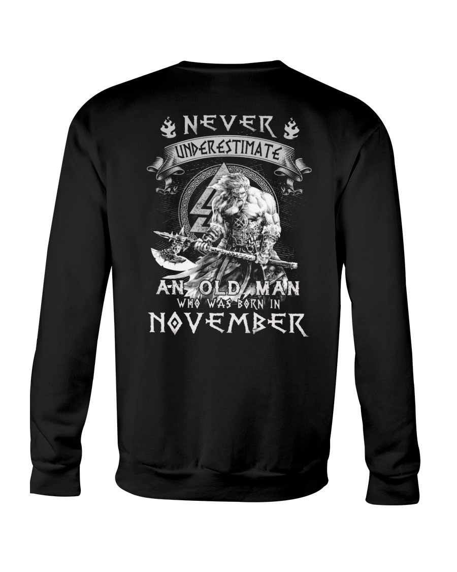 November Man - Limited Edition Crewneck Sweatshirt