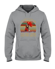 Your Crazy Is Showing Hooded Sweatshirt thumbnail