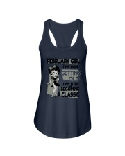 February Girl - Special Edition Ladies Flowy Tank tile