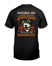 November Man - Limited Edition Classic T-Shirt thumbnail