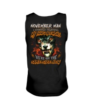 November Man - Limited Edition Unisex Tank tile