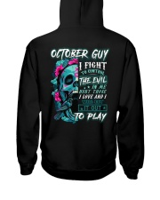 October  Guy - Limited Edition Hooded Sweatshirt back