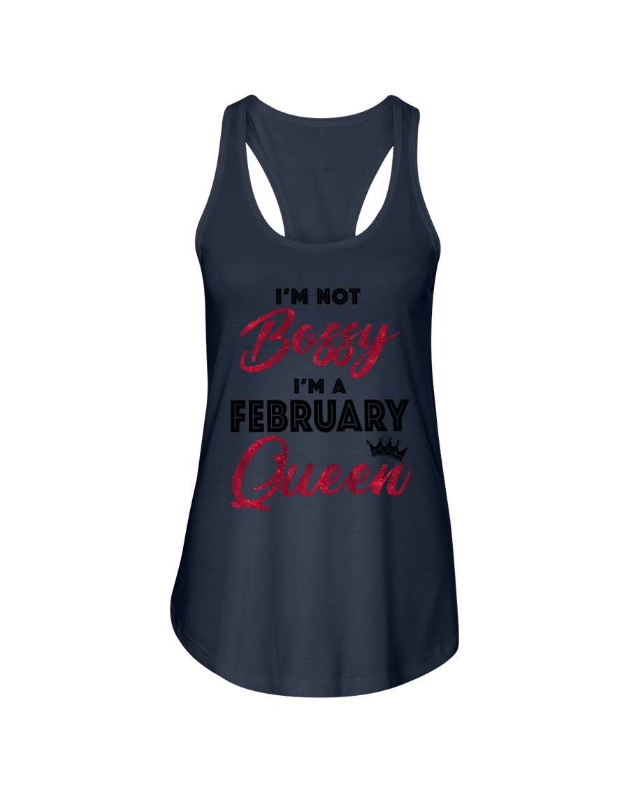 February  Queen - Special Edition Ladies Flowy Tank