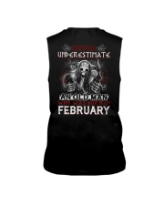 February Man - Limited Edition Sleeveless Tee back