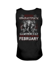 February Man - Limited Edition Unisex Tank tile