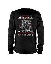 February Man - Limited Edition Long Sleeve Tee back