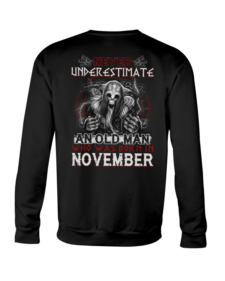 November Man - Limited Edition Crewneck Sweatshirt