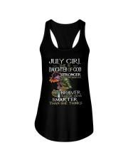 July Girl - Special Edition  Ladies Flowy Tank thumbnail
