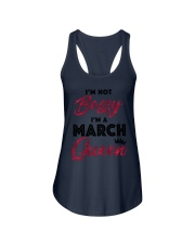 March  Queen - Special Edition Ladies Flowy Tank thumbnail