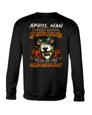 April Man - Limited Edition Crewneck Sweatshirt back