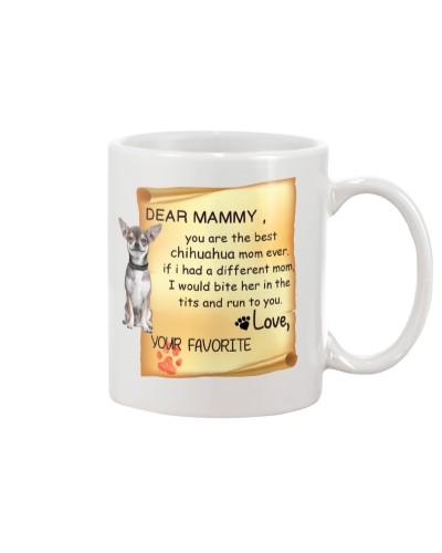 chihuahua love mammy