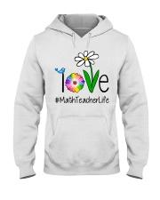 Love Math Teacher Life Hooded Sweatshirt thumbnail