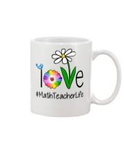 Love Math Teacher Life Mug thumbnail