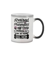 Retired Pharmacist - Stay at Home Dog Mom Color Changing Mug thumbnail