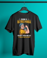 Retired Nurse - Make me Blessed Classic T-Shirt lifestyle-mens-crewneck-front-3